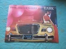0802s   1960 Studebaker Lark deluxe sales catalog brochure (best version)