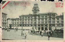 CARTOLINA SPEDITA IN POSTA MILITARE - ITALIA REDENTA - TRIESTE - 1915 C11-15