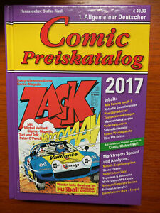 COMIC PREISKATALOG 2017,  Hardcover, Stefan Riedl
