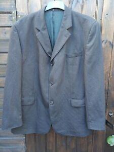 "Mens Wool Blend Grey SUIT JACKET Ciro Citterio 48"" Chest"