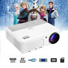 LED LCD Projector 1080p Video Movie Game Party Multimedia Home Cinema HDMI USB