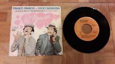 """Franco Franchi E Ciccio Ingrassia – Ah! L'Amore - Vinile 45 giri 7"""" RCA BB 6559"""