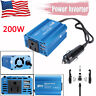 200W Car Power Inverter DC 12V To AC 110V Converter Dual USB Charger US Plug