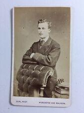 Victorian Carte De Visite CDV Photo: Gent: Francis Earl: Malvern & Worcester