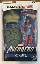 "NEW Marvel Legends Gamerverse Ms. Marvel Kamala Khan 6"" Figure BAF Abomination"