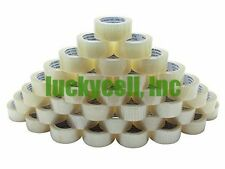 "18 Rolls Clear Box Carton Sealing Packing Tape Shipping - 2 mil 2"" x 110 Yards"