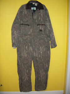 Liberty Vintage Real Tree Camo InsulateCoveralls 2xl Reg Chest 50-52 Made in USA