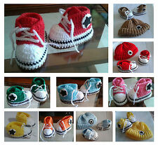 Patucos bebe, zapatillas, tipo converse, botas, hecho a mano, recien nacido