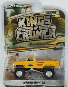 1/64 GreenLight Kings of Crunch Series 5 1977 Ford F-250 Truk