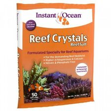 Instant Ocean Reef Crystal Sea Salt Marine Mix, 50Gallon