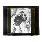 Vintage Civil War Goodbye to Family Scene Magic Lantern Slide for sale