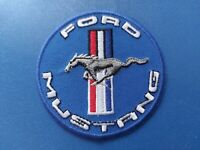 Ford Mustang Sew / Iron On Patch (a) Motorsports Rally Car Racing Badge