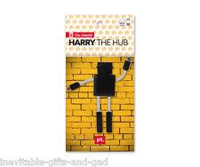 Harry the Robot USB Hub Gadget Gift Black