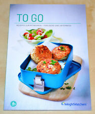 Weight Watchers libro di cucina to go! - propoints piano nuovo programma 2015 * NUOVO *