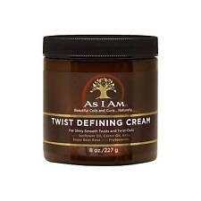 as I Am Twist Defining Cream Coils Curls Naturally 8oz / 227g UK 1 Jar