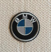 Patch Toppa Brand Logo Auto BMW Stemma Marchio Ricamata Termoadesiva 6cm