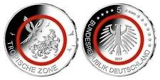 5 Euro Münze Tropische Zone 2017 J Hamburg bankfrisch in Münzkapsel