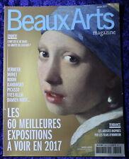 BEAUX-ARTS magazine - n°391S de 2017 - Vermeer, Kandinsky, Picasso, Klein...