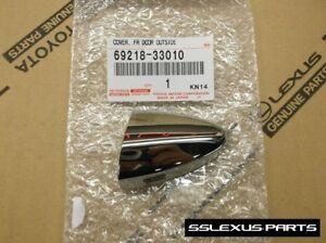 Lexus LS460 (2007-2017) OEM Front Driver Side LH Chrome DOOR HANDLE KEY COVER