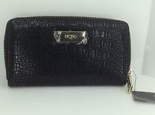 Women's BCBG PARIS Brand Black Envelope Wallet - $58 MSRP - 10%