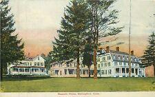 Connecticut, CT, Wallingford, Masonic Home 1908 Postcard