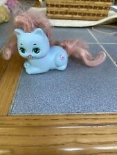 Vintage MATTEL My Pretty Kitty PEEKABLUE POLISHED PAWS Rare blue cat HTF 1989