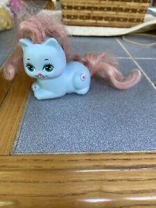 Vintage MATTEL My Pretty Kitty PEEKABLUE POLISHED PAWS Rare blue cat HTF 1989