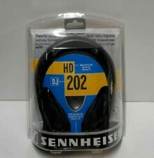 Sennheiser HD202 Professional DJ Headphones KINDA WORKING/FOR PATCHING/FOR PARTS