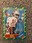 1986 Topps Football Jerry Rice Rookie #161 Nrmt HOF 49ers