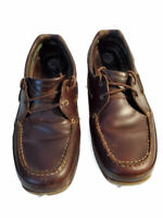 Dunham Shoes Size 10.5 Oxfords Rollbar 360 Fit Mens Brown Leather Lace Up
