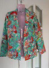 Visage Floral Jacket/Blazer size UK 6