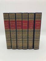 Vintage The World's Popular Classics Art Type Edition Books Inc HC Lot of 6 RARE