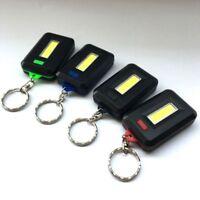 Mini tragbare 3 Modi Tasche COB Worklight Licht Licht LED Taschenlampe schlüssel