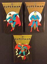 Dc Archive Editions Superman Comics Golden Age Vol 1-3 Hc Books 1st Print Reader