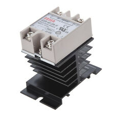 DC to AC SSR-60DA-H AC 90--480V 60A Single Phase Solid State Relay ED