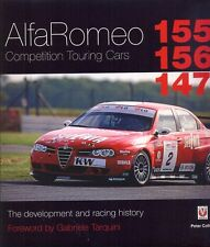 Alfa Romeo Competition Cars 155 156 147 - Peter Collins - book