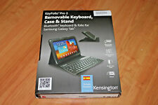 Kensington KeyFolio Pro 2 Funda+Teclado Español Samsung Galaxy Tab Bluetooth !!!