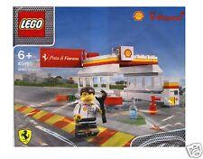 LEGO 40195 SHELL V-POWER SHELL STAZIONE + SHELL personaggio