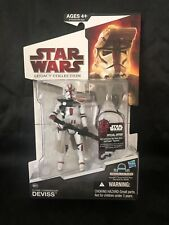 Star Wars Legacy Collection CLONE COMMANDER DEVISS BD37 Droid Factory NEW 2009