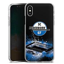 Apple iPhone Xs Silikon Hülle Case - SC Paderborn Stadion
