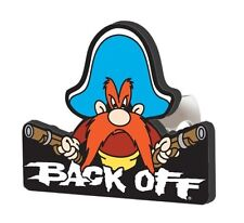 Yosemite Sam Back Off Hitch Cover Trailer Tow Custom Nice New Free Shipping