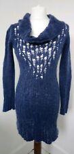 NOA NOA Of Denmark Womens cowl neck jumper Dress S Wool & Mohair Knitwear Scandi