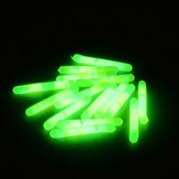 50Pcs Fishing Luminous Float Night Fluorescent Light Float Glow Fishing Stick