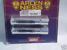 HARLEY ARLEN NESS CHROME STEPPED FOOT PEGS SHOVELHEAD SPORTSTER IRONHEAD