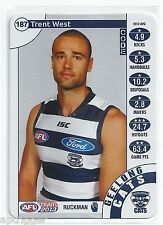 2013 Teamcoach Silver (187) Trent WEST Geelong