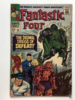 Fantastic Four 58 Doctor Doom Stan Lee & Jack Kirby Marvel Silver Age