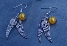 Gift for Xmas - Costume Jewellery Harry Potter Golden Snitch Earrings Nice