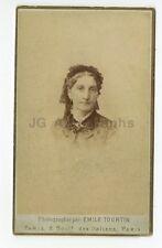 19th Century Fashion - 19th Century Carte-de-visite Photograph - Paris, France