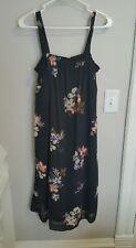 liz lange maternity dress size medium sundress black
