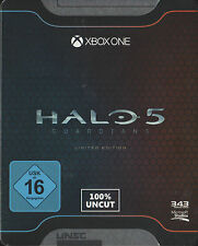 Halo 5 Guardians, Limited Steelcase Edition, Xbox One xb1, nuevo & OVP